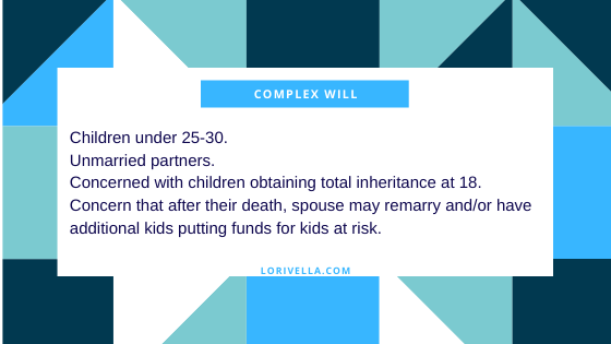 complex wills with trusts