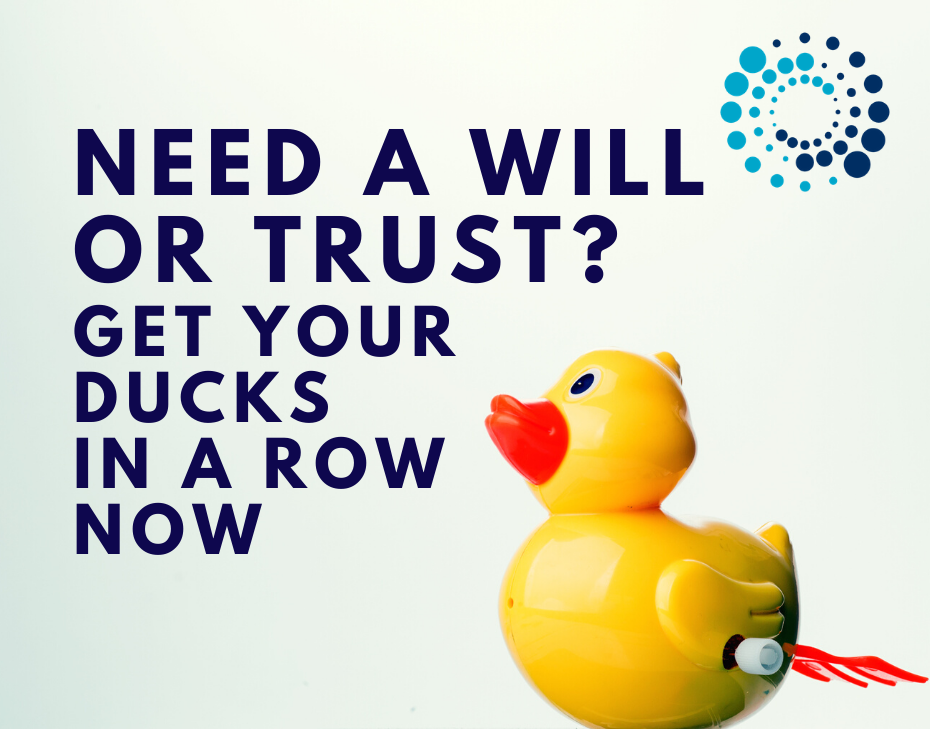 Need a Will or a Trust