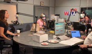picture of radio sound room