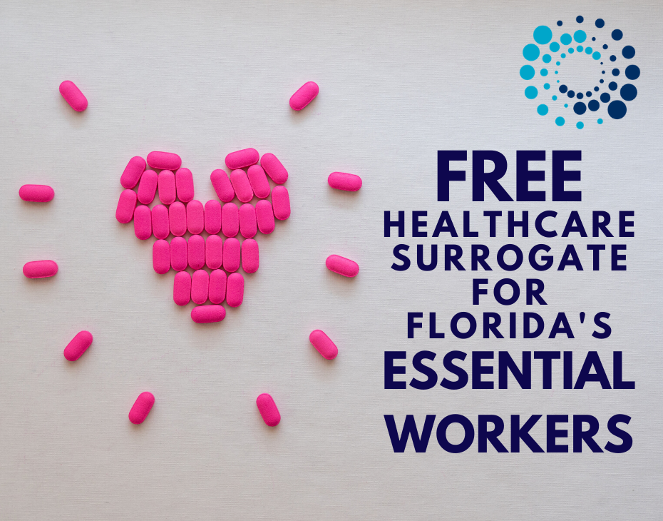 Healthcare Surrogate for Essential Workers