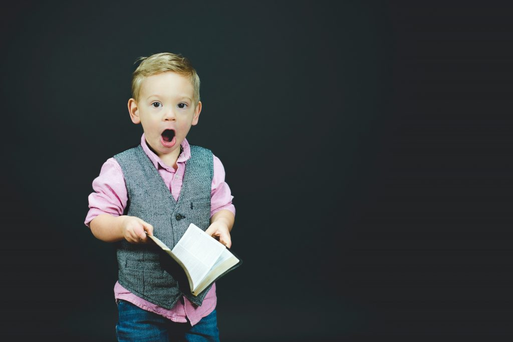 picture of child dressed up